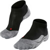 Falke RU4 Short Hardloopsokken Dames grijs/zwart